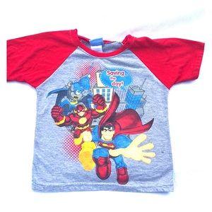 Super hero t shirt